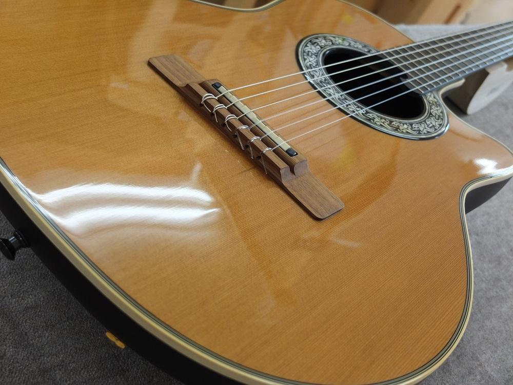 20年前のギターとは思えない入れない状態です。