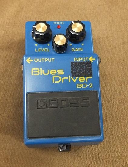 FCGRによってモディファイされたBlues Driverです。