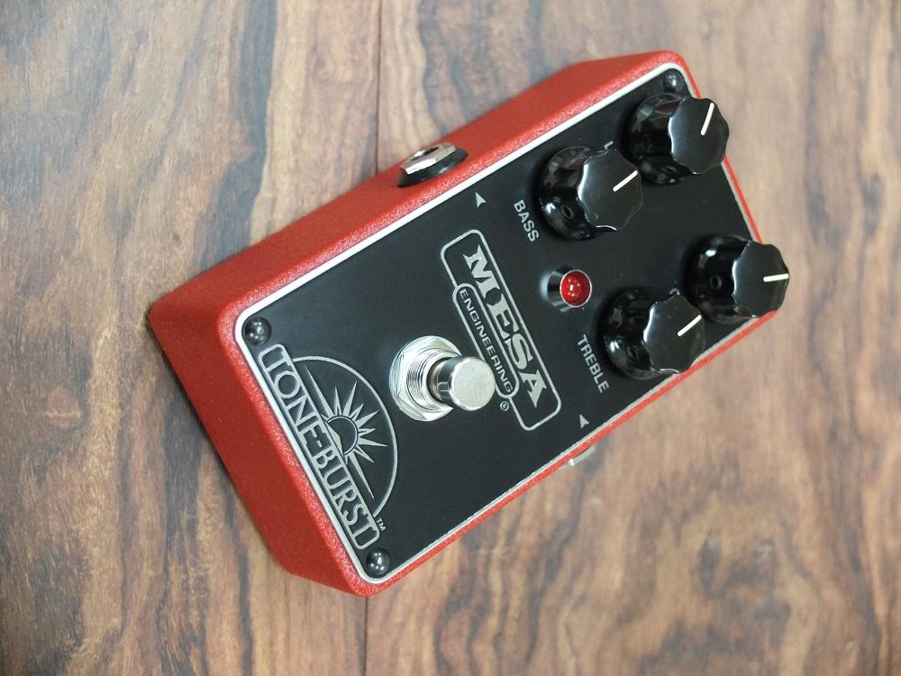 Mesa Tone Burst、ストラトプレイヤーに是非試してもらいたいペダル。