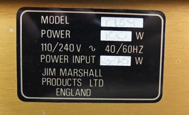 リアパネルに張られたステッカーにモデル名「1959」の文字が見えます。