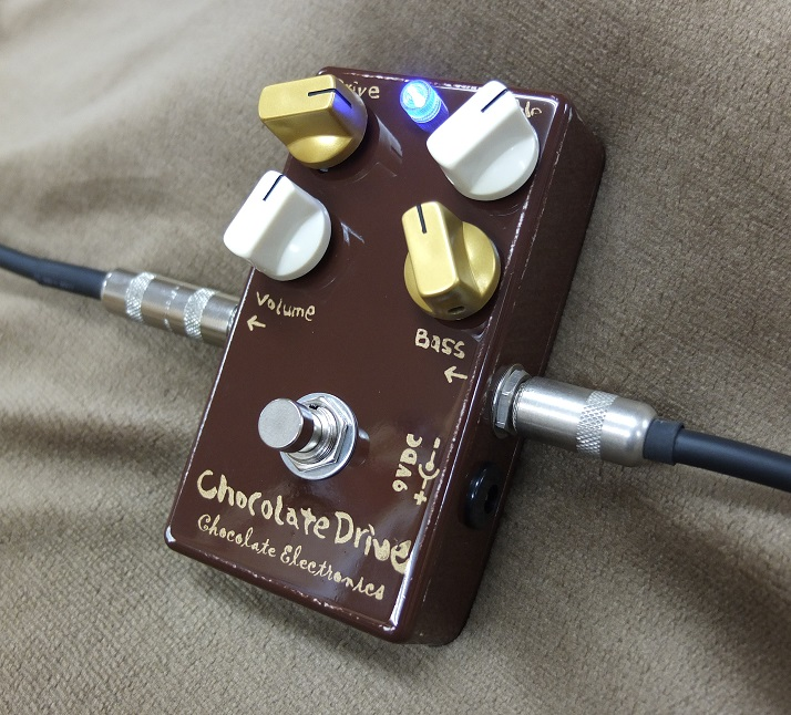 リードギタリスにお勧めのオーバードライブChocolate Drive!
