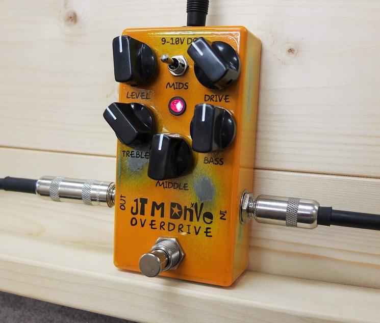 Marshallの名機 JTMのサウンドをターゲットにしたドライブペダル、JTM Drive!