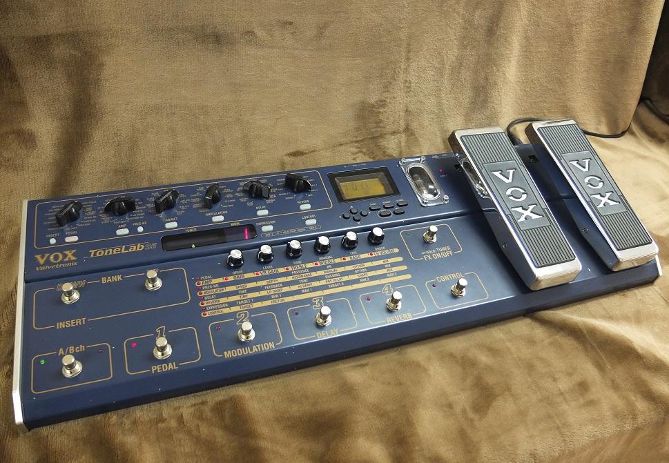 本物の真空管サウンド!VOX Valvetronix Tone Lab SE!