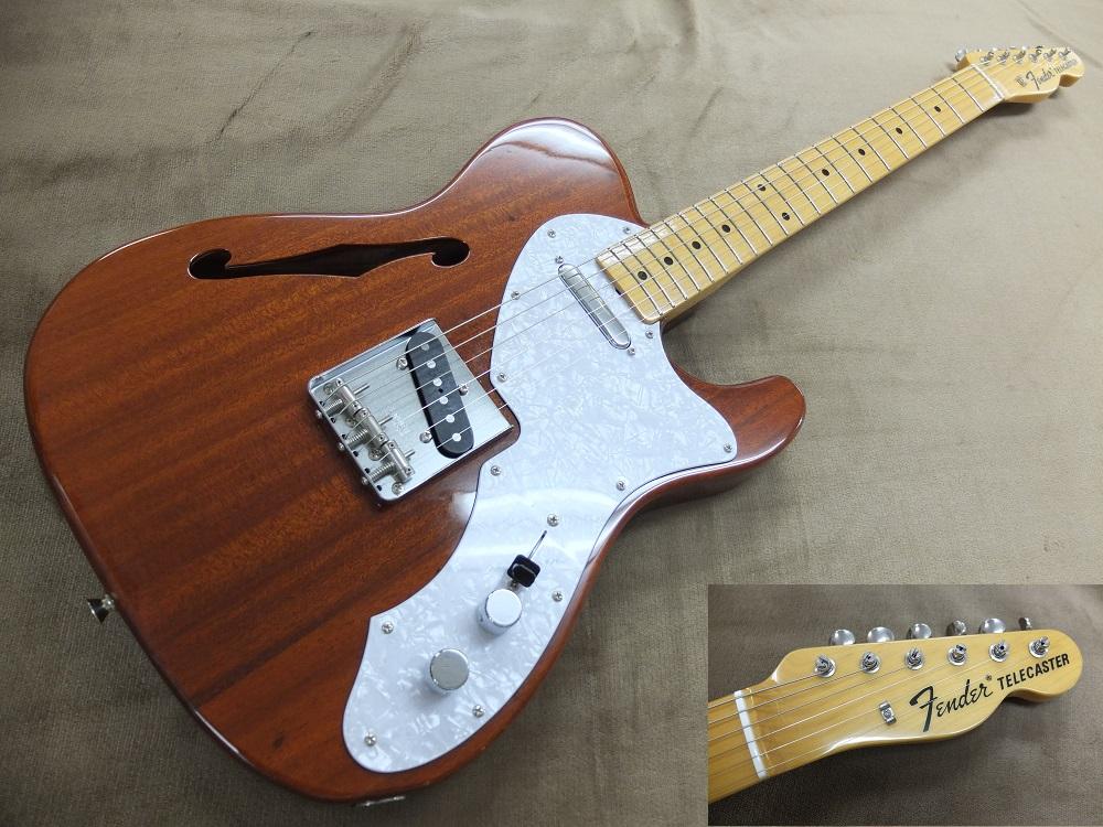 Fender Japan 2010~2012年製のテレキャスターシンライン、オーバーホール済み。