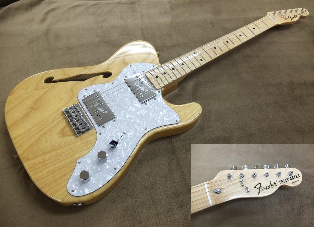 近年製(JDシリアルの)Fender Japan Telecater Thinline 2ハム!なかなかの美品!