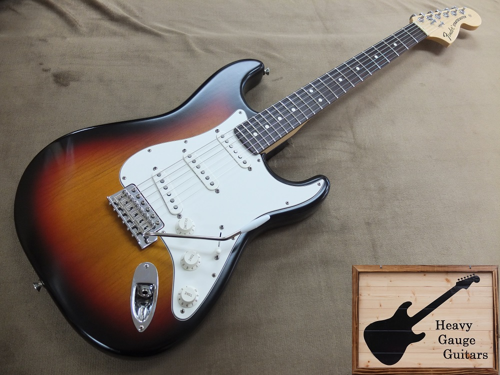 Fender USA Highway One Straocaster Upgrade、勿論調整済み!