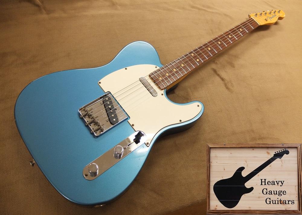 カスタムショップ製63年タイプTelecaster、人気カラーのLake Placid Blue!